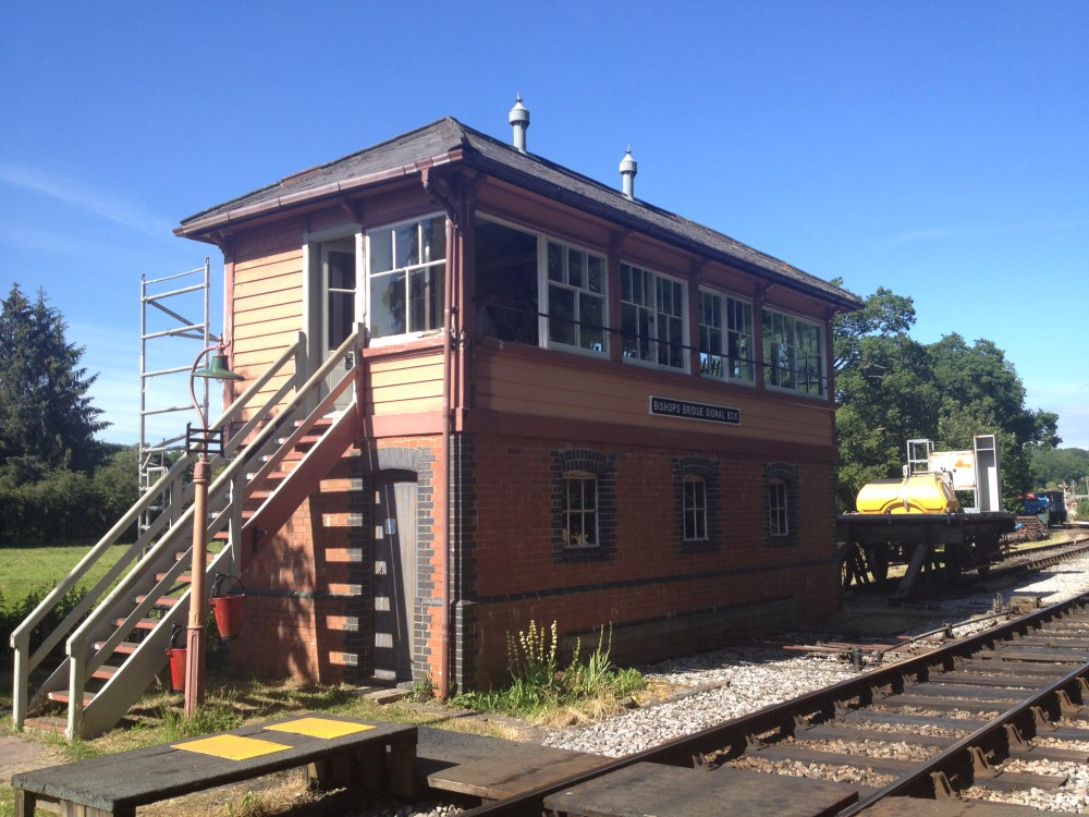 Bishops Bridge Signal Box